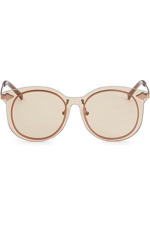 Karen Walker Women's 51MM Mrs Persimmon Round Sunglasses