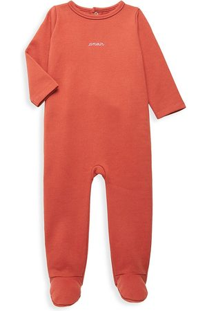 Maison Labiche Baby Pajamas - Baby Girl's Amour Pajama Coverall - - Size 6-12 Months