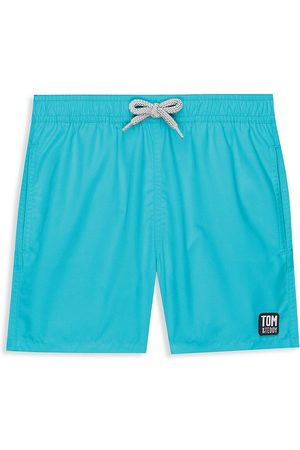 Tom & Teddy Little Boy's & Boy's Classic Swim Trunks - - Size 11-12