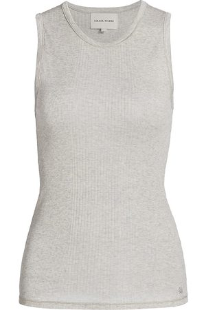 Loulou Studio Women's Fatu Ribbed Tank Top - - Size Large