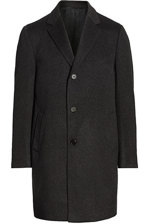 Saks Fifth Avenue Men's COLLECTION Buttoned Cashmere Topcoat - - Size 48 L