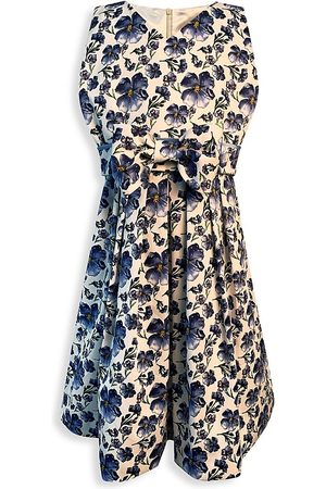 Helena and Harry Little Girl's & Girl's Floral Bow Dress - - Size 3