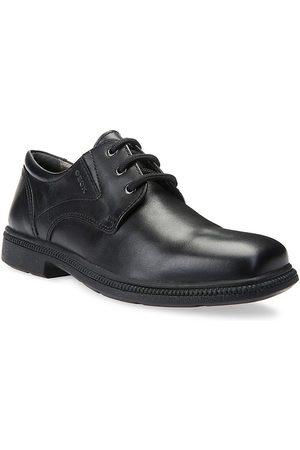 Geox Boy's Federico Leather Oxfords - - Size 34 EU (3 Child US)