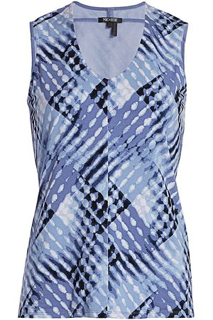 NIC+ZOE, Petites Women's Crossover Sleeveless Top - - Size Petite Large