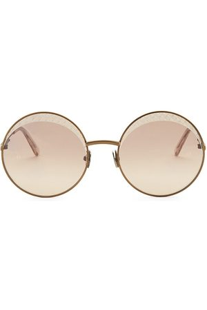 Bottega Veneta Women's 60MM Round Sunglasses