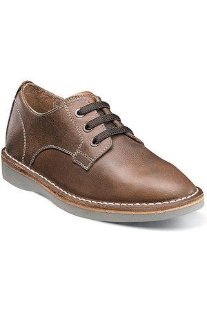 Florsheim Little Kid's & Kid's Navigator Jr. Plain-Toe Leather Oxfords - - Size 5 (Child)