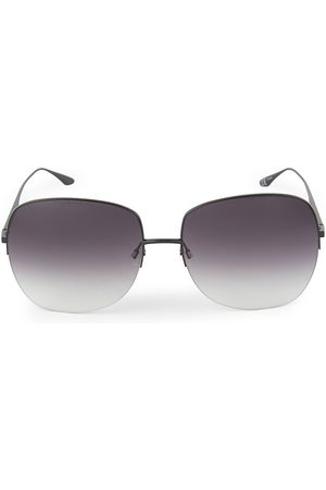 Barton Perreira Women's Harmonia 62MM Rimless Square Sunglasses