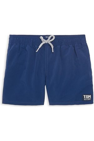 Tom & Teddy Little Boy's & Boy's Solid Board Shorts - - Size 9-10