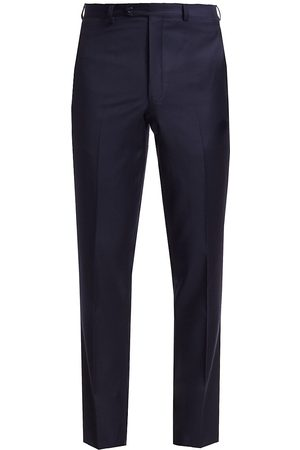 Saks Fifth Avenue Men's COLLECTION Wool Trousers - - Size 44