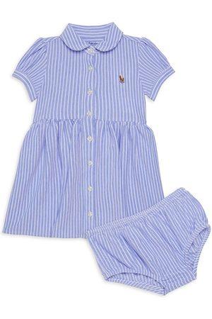 Ralph Lauren Baby Girl's 2-Piece Oxford Shirtdress & Bloomers Set - - Size 6 Months