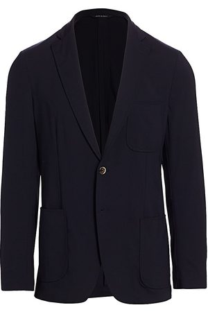 Saks Fifth Avenue Men's COLLECTION Tech Travel Jacket - - Size 38 R