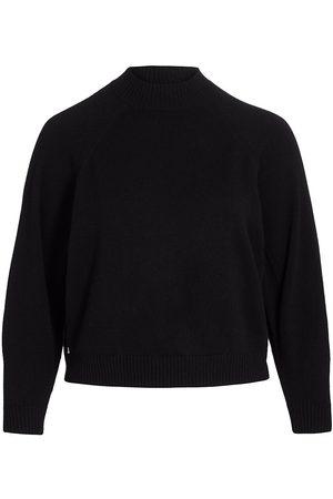 Lafayette 148 New York Women's Round-Sleeve Cashmere Pullover - - Size 2X (18-20)