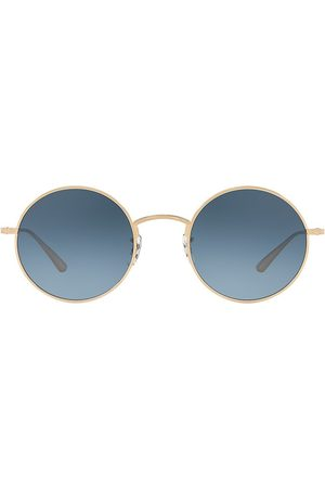 Oliver Peoples Women's After Midnight 49MM Round Sunglasses