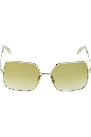 Céline Women's 60MM Square Metal Sunglasses