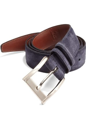 Saks Fifth Avenue Men's COLLECTION Suede Belt - - Size 44