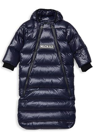 Mackage Baby Girl's Allie Down Bunting Quilted Snowsuit - - Size 6 Months