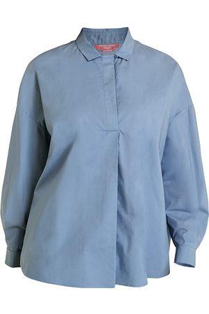 Persona by Marina Rinaldi Women's Poplin Oversized Shirt - - Size 16 W