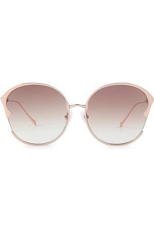 For Art's Sake Women's Alectrona 60MM Round Sunglasses