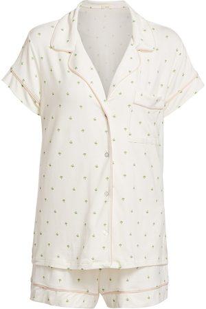 Eberjey Women's Giving Palm 2-Piece Pajama Set