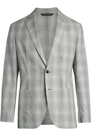 Saks Fifth Avenue Men's COLLECTION Plaid Sportcoat - - Size 38 S