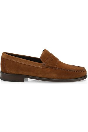 Saks Fifth Avenue Men's COLLECTION Suede Loafers - - Size 10.5