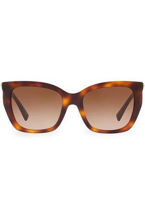 VALENTINO Women's 53MM Rockstud Square Cat Eye Sunglasses