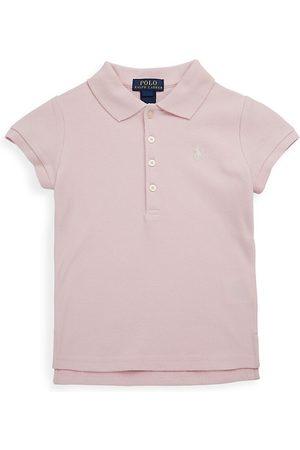 Ralph Lauren Little Girl's & Girl's Stretch Cotton Polo Shirt - - Size XL (16)
