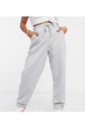 ASOS ASOS DESIGN Petite super oversized sweatpants in marl-Grey