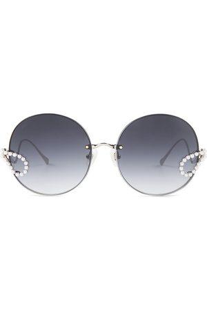 For Art's Sake Women's 57MM Passion Fruit Round Sunglasses