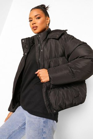 Boohoo Womens Hooded Padded Jacket - - 4
