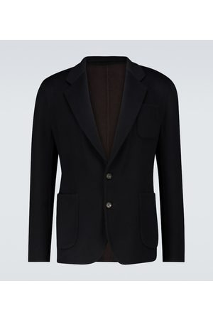 Thom Sweeney Double-faced cashmere blazer
