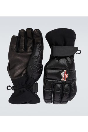 Moncler Technical logo gloves