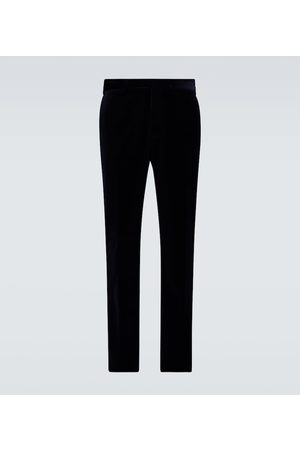 Ralph Lauren Gregory velvet pants