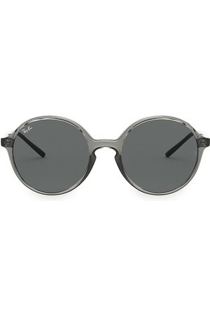 Ray-Ban Women's RB4304 53MM Youngster Round Sunglasses