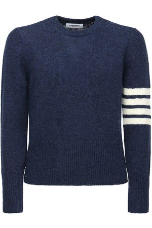 Thom Browne 4 Bar Wool Knit Sweater