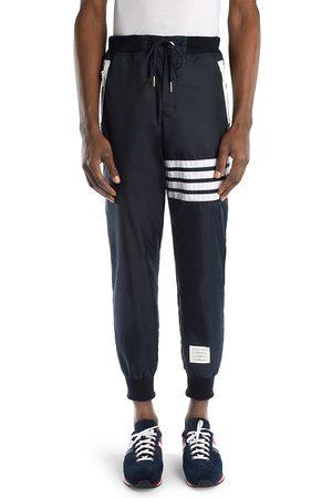 Thom Browne Men's Stripe Cashmere & Cotton Sweatpants - - Size Small