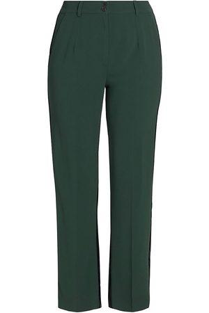 Persona by Marina Rinaldi Women's Ravenna Velvet Back Pants - - Size 20W