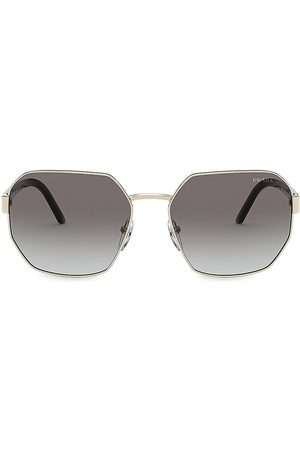 Prada Women's 59MM Irregular Square Sunglasses