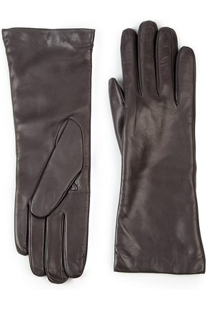 All Gloves Women's Cashmere-Lined Leather Gloves - - Size 8