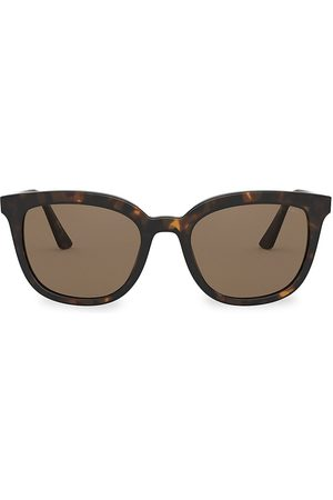 Prada Women's 53MM Tortoiseshell Square Sunglasses