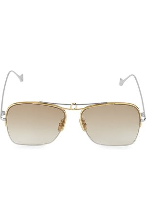 Loewe Women's 56MM Square Aviator Sunglasses