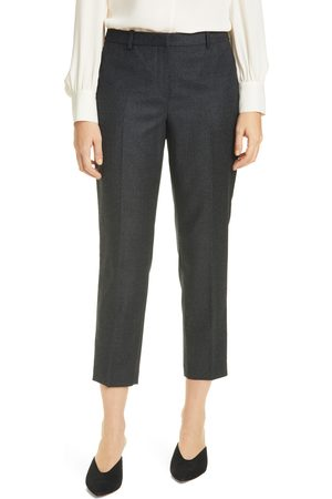THEORY Women's Stretch Wool Trousers