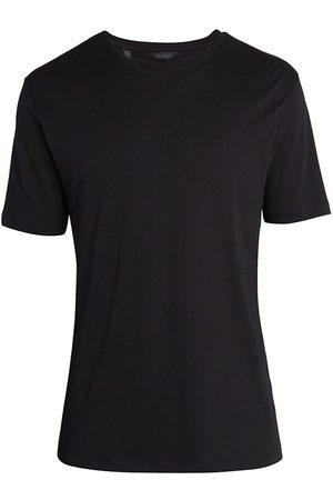 Saks Fifth Avenue Men's COLLECTION High V-Neck T-Shirt - - Size Medium