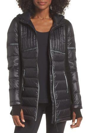 Blanc Noir Women's Reflective Down Puffer Jacket