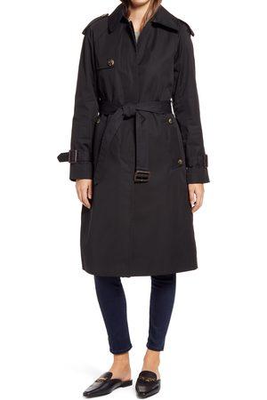 London Fog Women's Heritage Water Repellent Trench Coat