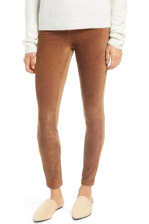 HUE Plus Size Women's Corduroy Leggings