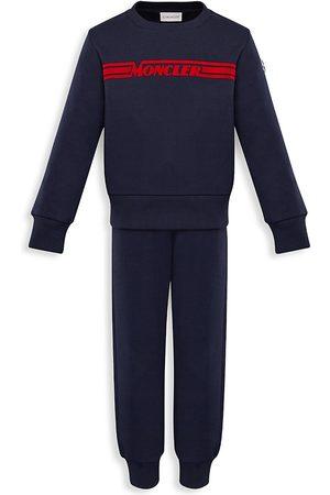 Moncler Little Boy's & Boy's 2-Piece Knitwear Sweatshirt & Joggers Set - - Size 14