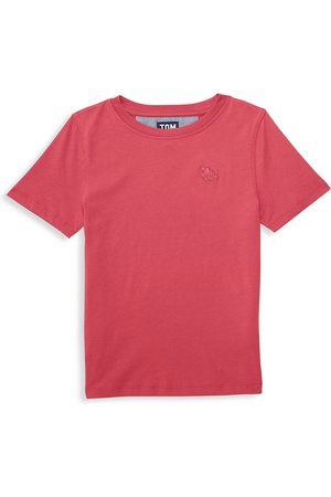 Tom & Teddy Little Boy's & Boy's Solid T-Shirt - - Size 5-6