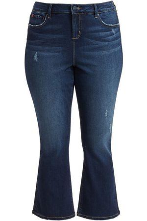 Slink Jeans Plus Women's High-Rise Bootcut Jeans - - Size 24 W