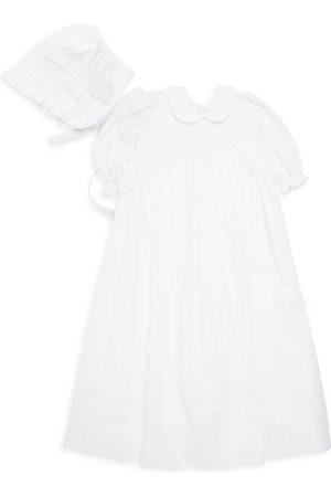 Kissy Kissy Baby Girl's Two-Piece Gown & Hat Set - - Size 6-12 Months